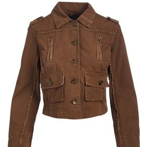LAST ONE! Size M Brown Eagle Jacket